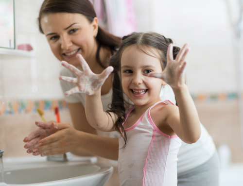 Encouraging Hand Washing Practices Early